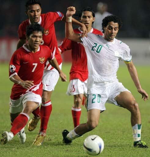 图文-[亚洲杯]沙特队2-1印尼队亚希尔无人能挡