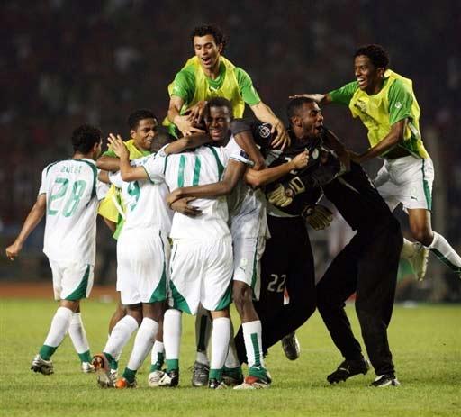 图文-[亚洲杯]沙特队2-1印尼队胜利来之不易