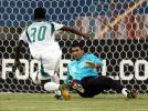 图文-[亚洲杯]沙特队VS巴林队巴林门将无能为力