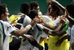 图文-[亚洲杯]沙特队4-0巴林队沙特队员如此激动