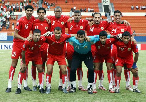 图文-[亚洲杯]沙特队4-0巴林队巴林队首发全家福