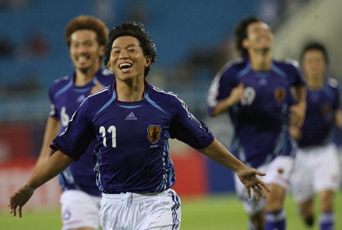 图文-日本点球大战5-4胜澳洲晋级佐藤寿仁喜形于色