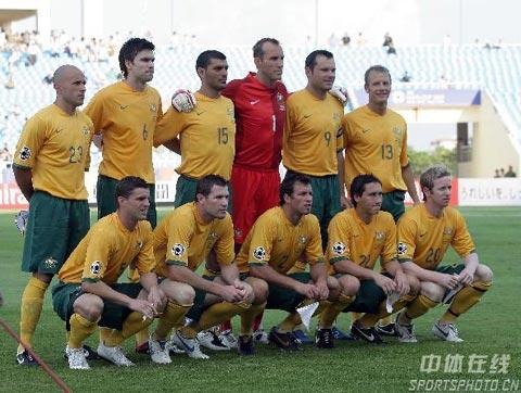 图文-[亚洲杯]日本VS澳大利亚澳洲11将轻松迎战