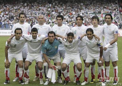 图文-[亚洲杯]伊朗VS韩国伊朗队首发阵容