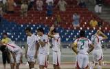 图文-韩国点球4-2伊朗晋级四强伊队员黯然神伤