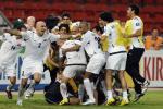 图文-伊拉克点球淘汰韩国进决赛伊队庆祝到疯狂