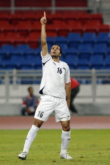 图文-伊拉克点球淘汰韩国进决赛穆纳杰德庆祝胜利