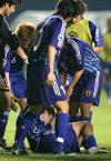 图文-[亚洲杯]韩国队6-5日本队日本队员太过悲伤