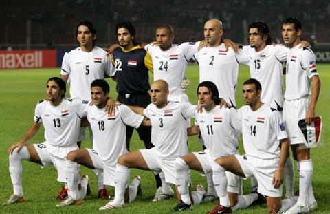 图文-[亚洲杯]伊拉克VS沙特伊队11骁将跃跃欲试