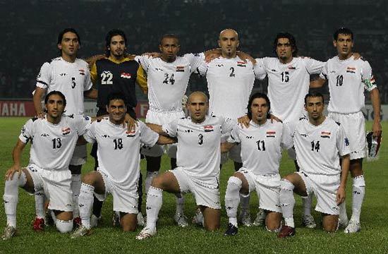 图文-[亚洲杯]伊拉克VS沙特伊拉克队首发11人阵容