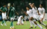 图文-伊拉克1-0沙特夺冠沙队员目睹伊拉克人的疯狂