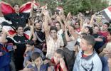 图文-伊拉克国民庆祝夺取亚洲杯球迷庆祝近乎疯狂