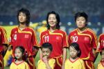 图文-[女足世界杯]中国VS巴西浦玮笑迎关键战