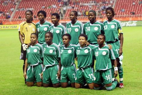 图文-[女足世界杯]美国vs尼日利亚 尼日利亚首发阵容