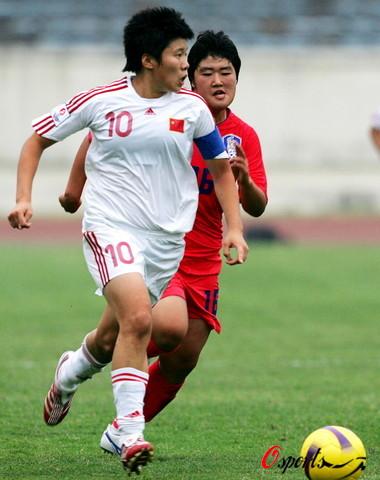 Chine - Corée du Sud féminine U19