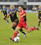东亚赛预赛女足2-1澳洲