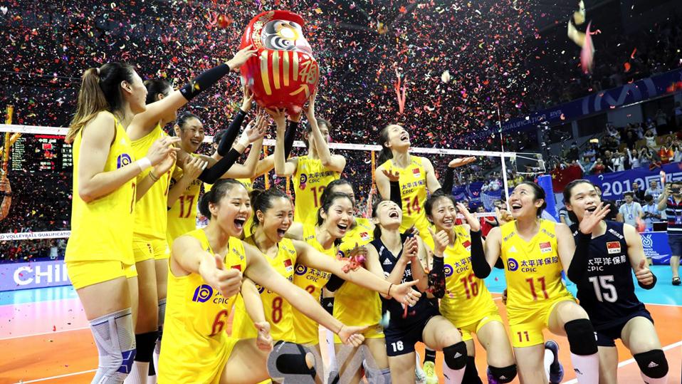 中国女排零封土耳其夺得奥运入场券