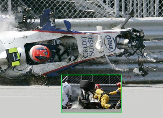 宝马赞扬F1安全标准指出若是10年前库比卡已经丧命