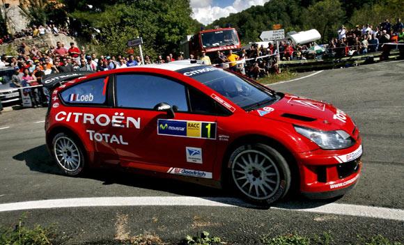 WRC加泰罗尼亚站首日:雪铁龙发威勒布领先(图)