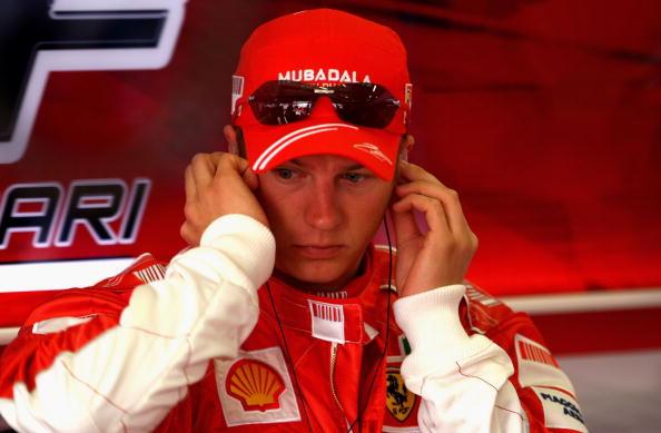 图文-F1欧洲站第二次练习赛莱科宁的眼神看起来怪异