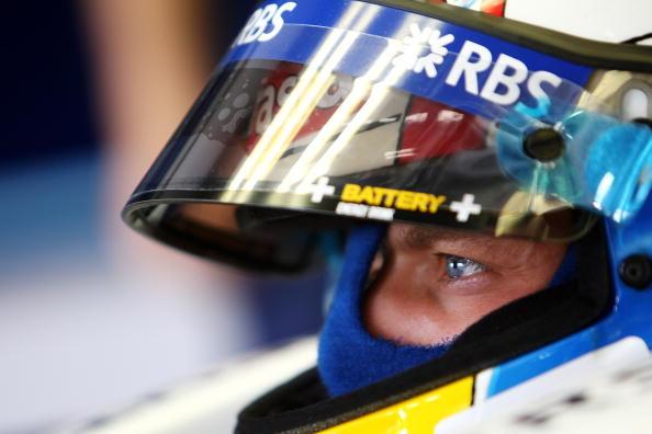 图文-F1欧洲站第二次练习赛伍尔兹犀利的眼神