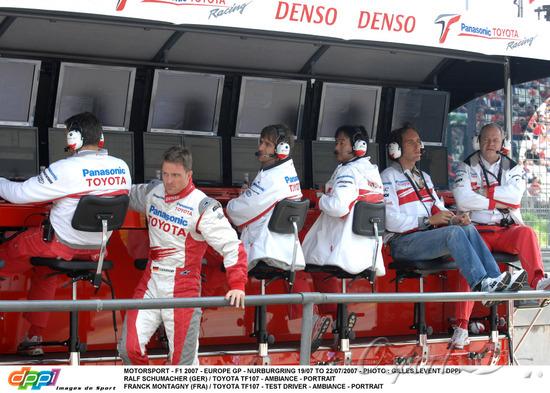 图文-F1欧洲站第二次练习拉尔夫在丰田处境艰难