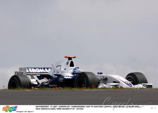 图文-F1欧洲站第二次练习海德菲尔德排名第九