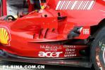 图文-F1欧洲站技术细节特写F2007采用腮孔与烟囱结合