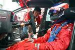 图文-全锦赛北京站排位赛基亚车队林立峰准备发车