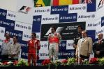 图文-F1欧洲大奖赛正赛赛后颁奖台全景