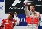 图文-F1欧洲大奖赛正赛谁胜谁负一望便知