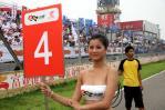 图文-2007全锦赛北京站举牌女郎4号举牌宝贝