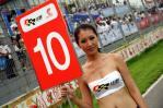 图文-2007全锦赛北京站举牌女郎10号举牌宝贝
