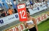 图文-2007全锦赛北京站举牌女郎12号举牌宝贝