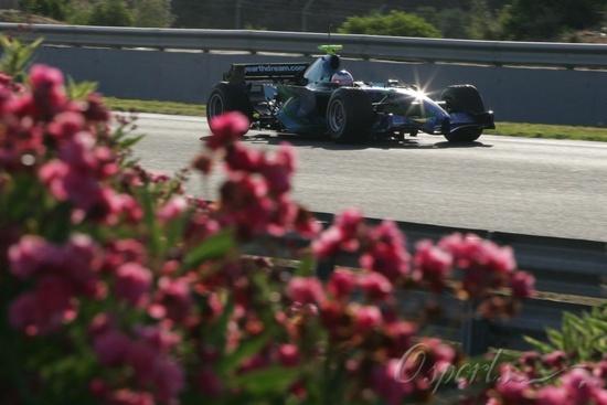 图文-F1赫雷斯试车次日(7.25)巴里切罗代替克莱恩