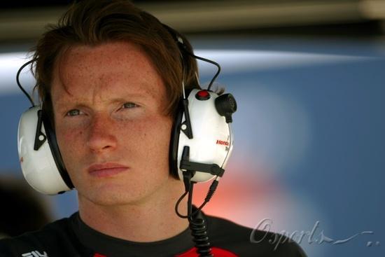 图文-F1赫雷兹试车次日(07.25)英国F3冠军康维