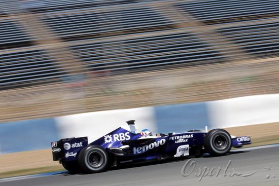 图文-F1赫雷兹试车第三日(07.26)威廉姆斯车手伍尔兹