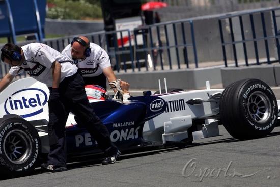 图文-F1赫雷兹试车第三日(07.26)宝马车队完成测试