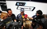 图文-F1车手亮相布达佩斯罗斯博格接受媒体采访