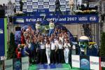 图文-WRC芬兰站格隆霍姆夺冠福特高捧格隆霍姆