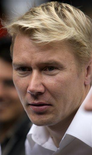 哈基宁担任安全宣传大使芬兰飞人风采依旧