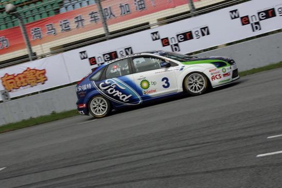图文-CCC珠海站2000CC组正赛李万琪摘得冠军