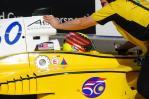 图文-A1GP07-08赛季官方试车熊龙完成试车