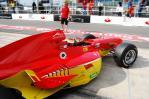图文-A1GP07-08赛季官方试车李英健冲出车库