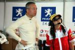 图文-全锦赛北京站1600cc排位苏华龙关注赛况进展