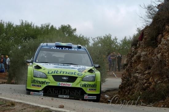 图文-WRC西班牙站芬兰新星希尔沃宁
