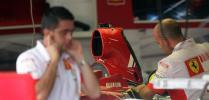 图文-F1车队备战2007收官站法拉利车队试运转引擎