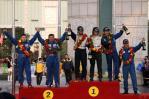图文-APRC中国龙游站颁奖仪式国家杯前三名颁奖合影