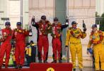 图文-APRC中国龙游站颁奖仪式辛吉斯创纪录夺五连冠