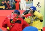 图文-APRC中国龙游站颁奖仪式刘曹东与徐浪香槟大战